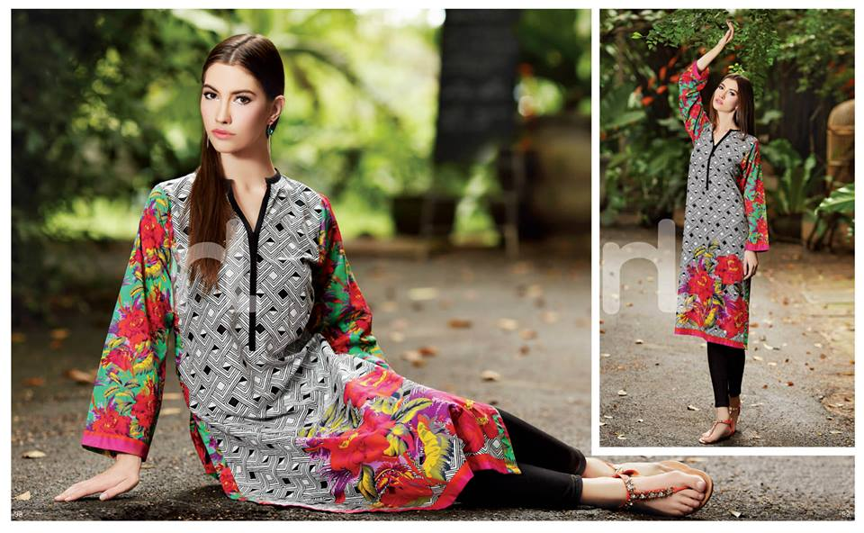 Latest Summer Spring Dresses 2014 By Nishat Linen NL Pret Wear 17 - Latest Summer/Spring Dresses 2014 For Women by Nishat Linen