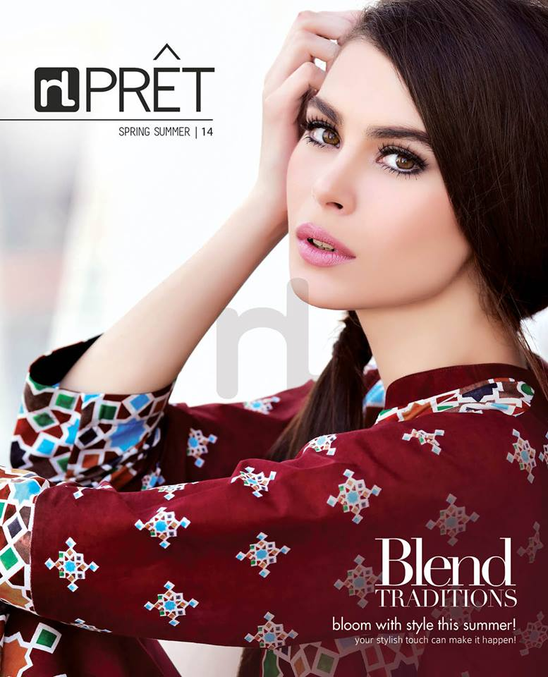 Latest Summer Spring Dresses 2014 By Nishat Linen NL Pret Wear 20 - Latest Summer/Spring Dresses 2014 For Women by Nishat Linen