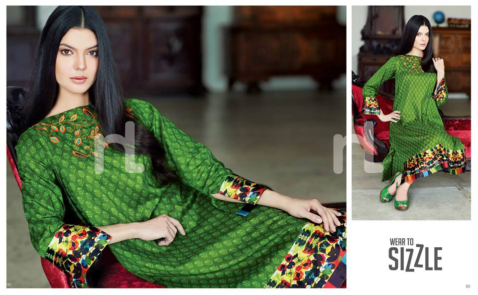 Latest Summer Spring Dresses 2014 By Nishat Linen NL Pret Wear 23 - Latest Summer/Spring Dresses 2014 For Women by Nishat Linen