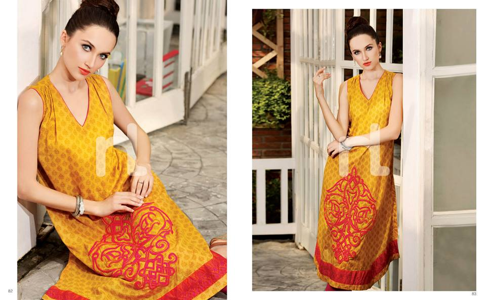 Latest Summer Spring Dresses 2014 By Nishat Linen NL Pret Wear 4 - Latest Summer/Spring Dresses 2014 For Women by Nishat Linen