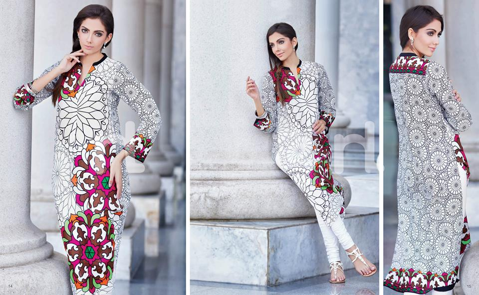 Latest Summer Spring Dresses 2014 By Nishat Linen NL Pret Wear 6 - Latest Summer/Spring Dresses 2014 For Women by Nishat Linen