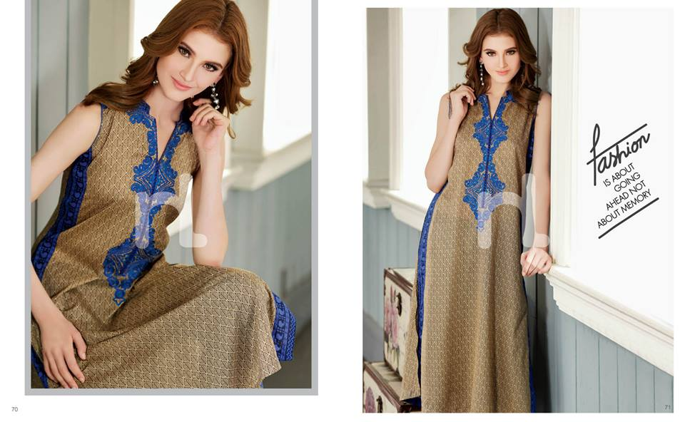 Latest Summer Spring Dresses 2014 By Nishat Linen NL Pret Wear 7 - Latest Summer/Spring Dresses 2014 For Women by Nishat Linen