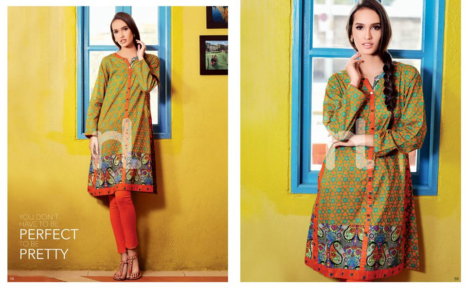 Latest Summer Spring Dresses 2014 By Nishat Linen NL Pret Wear 8 - Latest Summer/Spring Dresses 2014 For Women by Nishat Linen