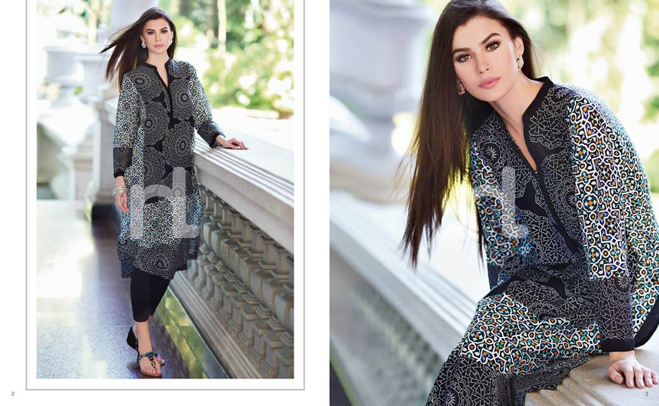 Latest Summer Spring Dresses 2014 By Nishat Linen NL Pret Wear 9 - Latest Summer/Spring Dresses 2014 For Women by Nishat Linen