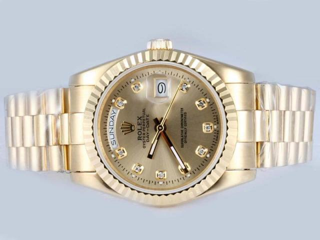 Latest Watch Designs and New Arrivals 2014 for Men by Gold Rolex (1)