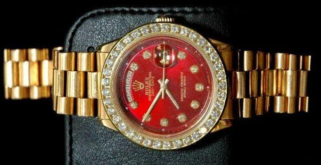 Latest Watch Designs and New Arrivals 2014 for Men by Gold Rolex (2)