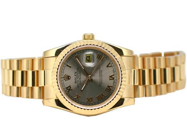 Latest Watch Designs and New Arrivals 2014 for Men by Gold Rolex (6)