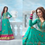 Latest Styles of Long Floor Length Frocks Anarkali Dresses For Women