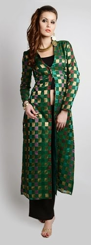 Long Front Open Double Shirts with Palazzo and Lehenga For Girls (1)