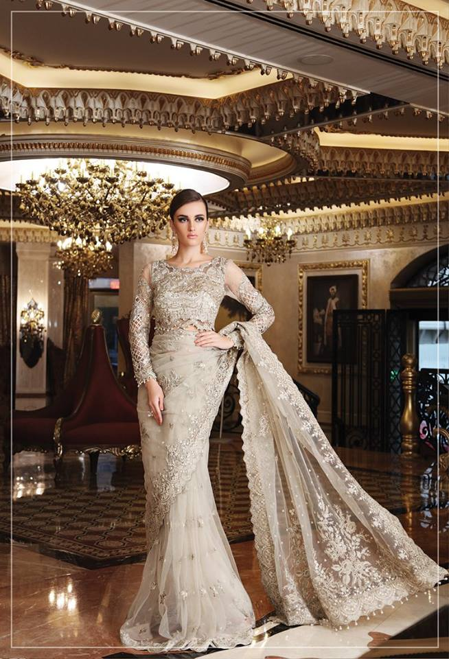 Maria-B-Latest-Formal-Wedding-Dresses-Collection-2017-2018-11 Asian Bridal Dress 2015