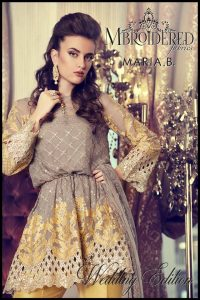 c52a0d8c9c2 See More As: Latest Maria B Brides Bridal Dresses Designs; Maria B Winter  Party & Formal Wear Dresses; Short ...