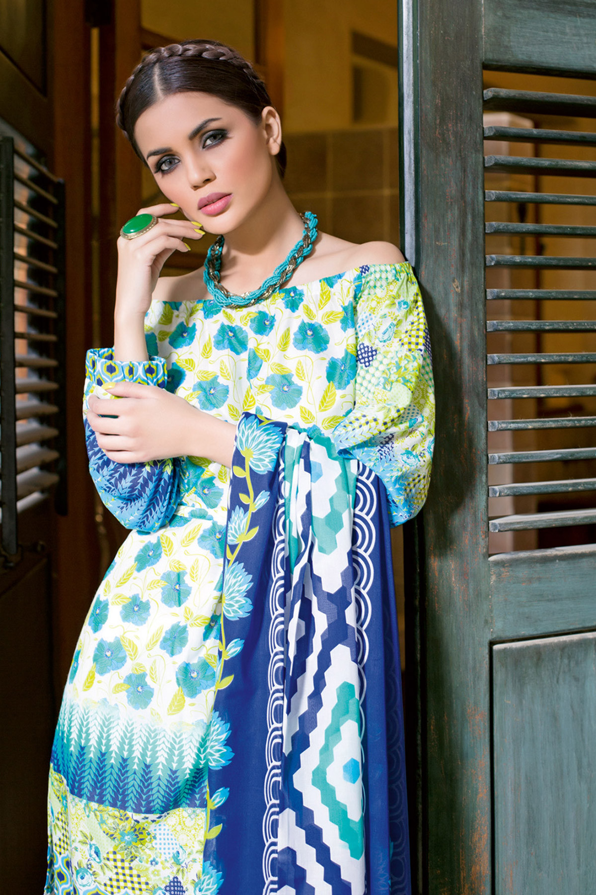 Summer lawn dresses- two piece- gul ahmed (2)