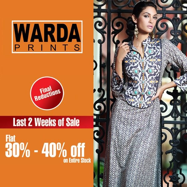 Warda Lawn Summer Spring Dresses Collection 2014 for women (2)