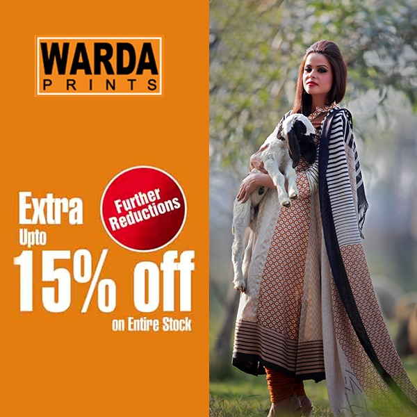 Warda Lawn Summer Spring Dresses Collection 2014 for women (3)