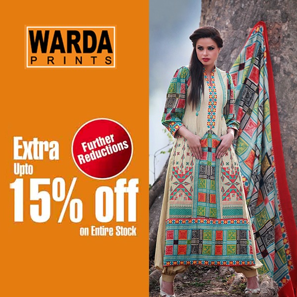 Warda Lawn Summer Spring Dresses Collection 2014 for women (5)