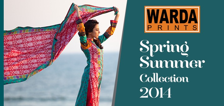 Warda Lawn Summer Spring Dresses Collection 2014 for women (6)