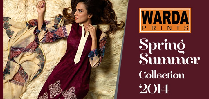 Warda Lawn Summer Spring Dresses Collection 2014 for women (8)