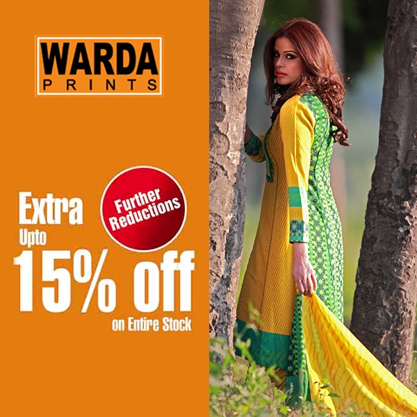 Warda Lawn Summer Spring Dresses Collection 2014 for women (9)