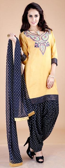 Indian Patiala Salwar Kameez Punjabi Suits 2014-2015 (1)