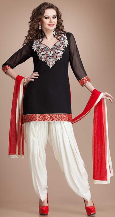 Indian Punjabi Patiala Salwar Kameez Suits 2016 2017