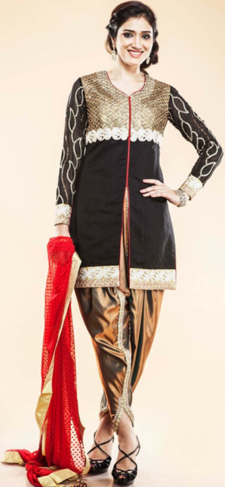 Indian Patiala Salwar Kameez Punjabi Suits 2014-2015 (13)