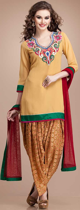 Indian Patiala Salwar Kameez Punjabi Suits 2014-2015 (14)