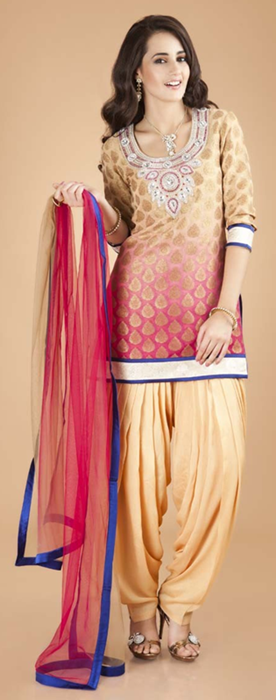 Indian Patiala Salwar Kameez Punjabi Suits 2014-2015 (3)