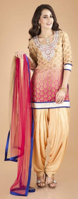 Indian Patiala Salwar Kameez Punjabi Suits 2014-2015 (3)
