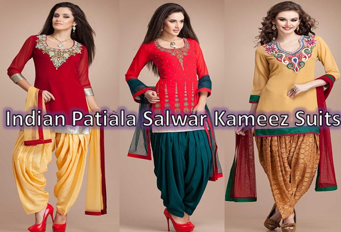 c733d14b0 Indian Punjabi Patiala Salwar Kameez Suits 2016-2017