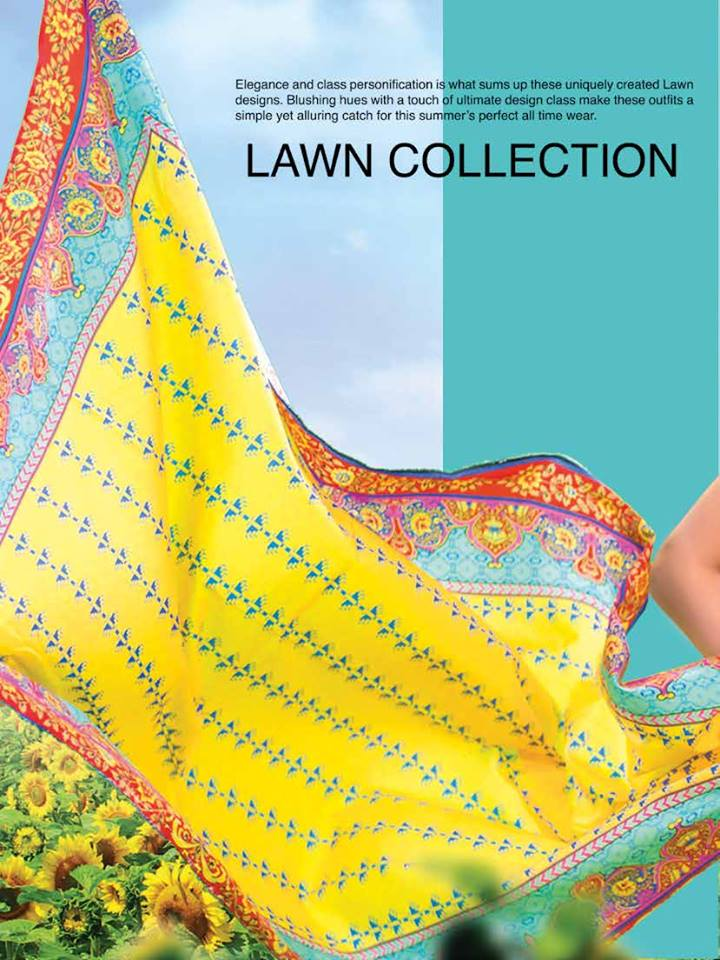 Khas Embroidered Lawn Collection 2017