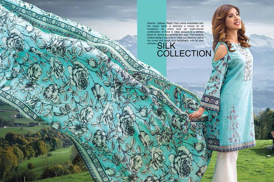 Khas Premium Embroidered Silk Collection 2017