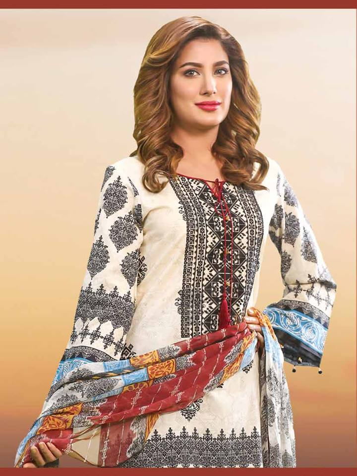 Khas Summer spring Designer lawn Collection 2017-2018 (1)