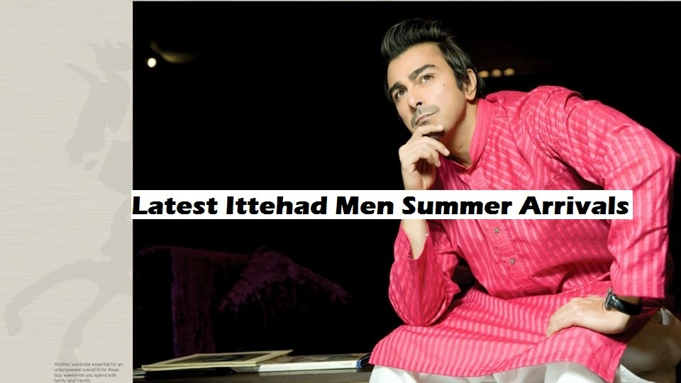 Laest Men Summer Arrivals Collection by Itehad I Man Clothing 2014-2015