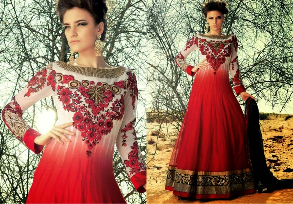 Latest Asian, Indian and Pakistan Designer Salwar kameez Dresses for women 2014-2015 (10)