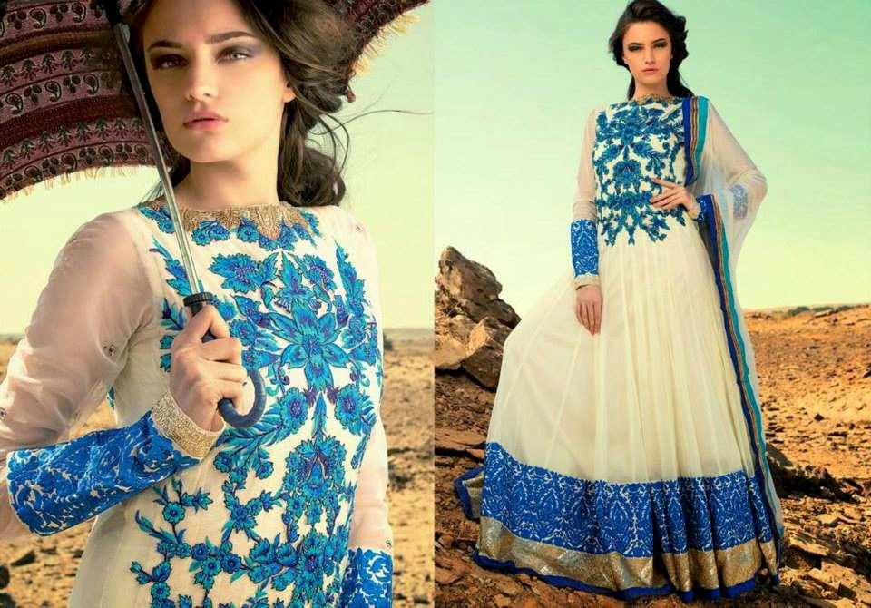 Latest Asian, Indian and Pakistan Designer Salwar kameez Dresses for women 2014-2015 (2)