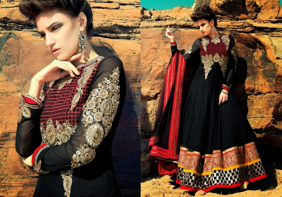 Latest Asian, Indian and Pakistan Designer Salwar kameez Dresses for women 2014-2015 (6)