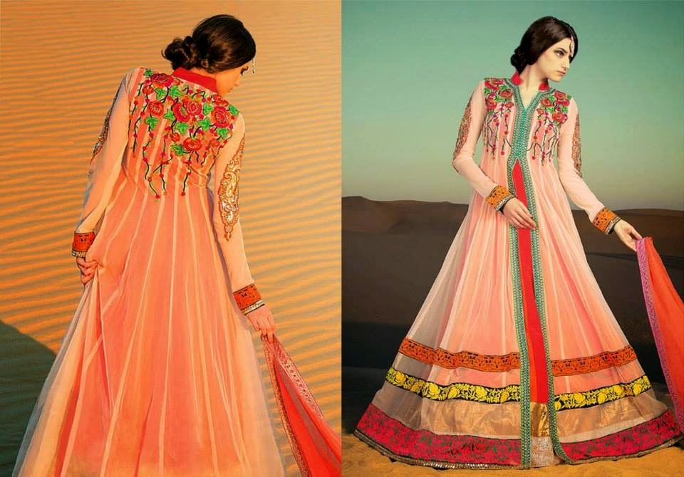 Latest Asian, Indian and Pakistan Designer Salwar kameez Dresses for women 2014-2015 (7)