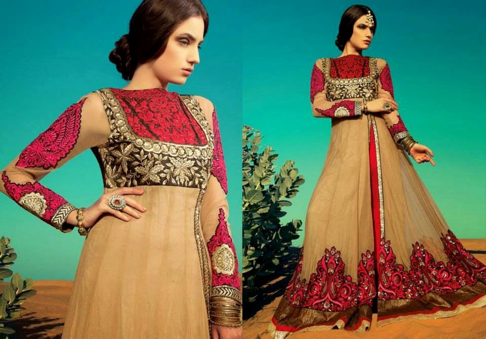 Latest Asian, Indian and Pakistan Designer Salwar kameez Dresses for women 2014-2015 (9)