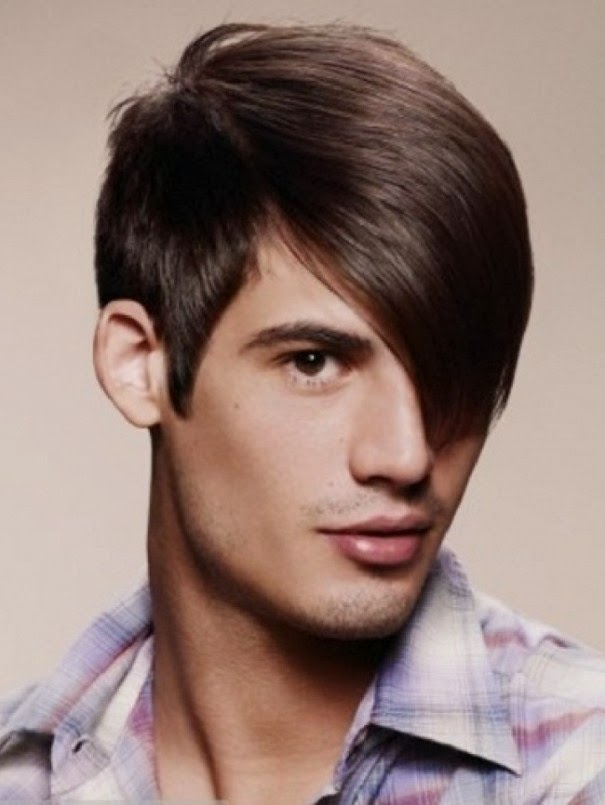 boys latest hair style stylish and decent hairstyles for and boys for 5133 | Latest Decent and Stylish hairstyles and haircuts for Men boys 2014 2105 15
