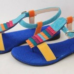New Summer Spring Sandals and Shoes/Footwear Designs For Women By Purple Patch
