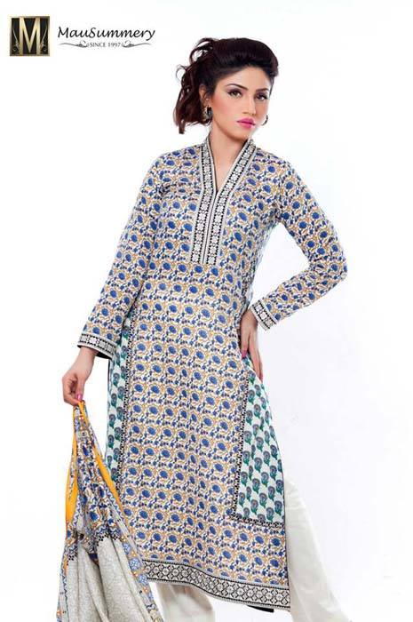 Mausummery Spring Summer Dresses Collection for women 2014 (11)