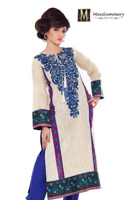 Mausummery Spring Summer Dresses Collection for women 2014 (17)