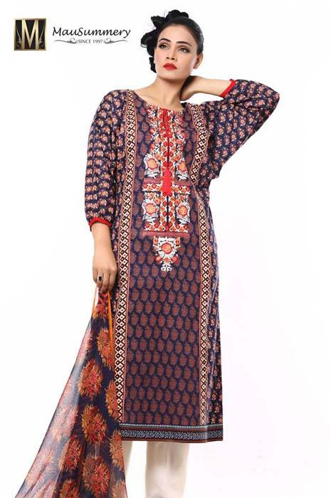 Mausummery Spring Summer Dresses Collection for women 2014 (18)