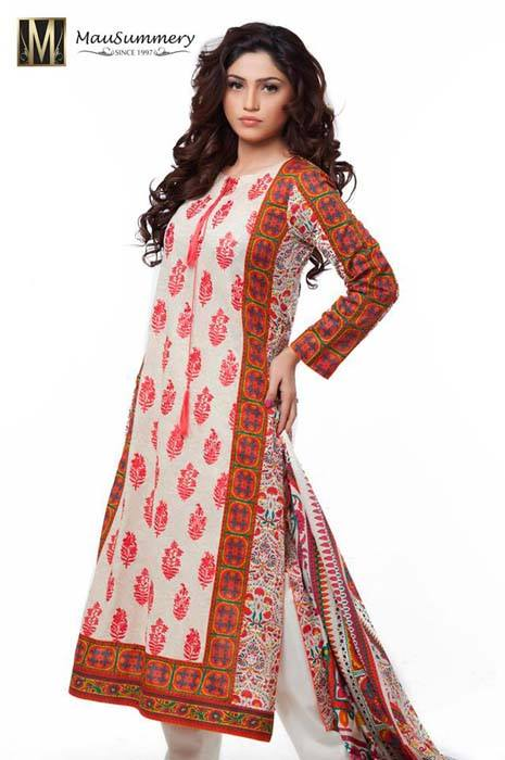 Mausummery Spring Summer Dresses Collection for women 2014 (20)