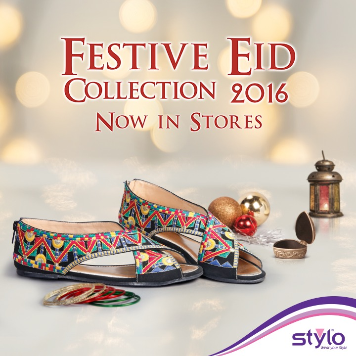 Stylo Shoes Fancy & Stylish Footwear Eid Collection 2016-2017 (1)