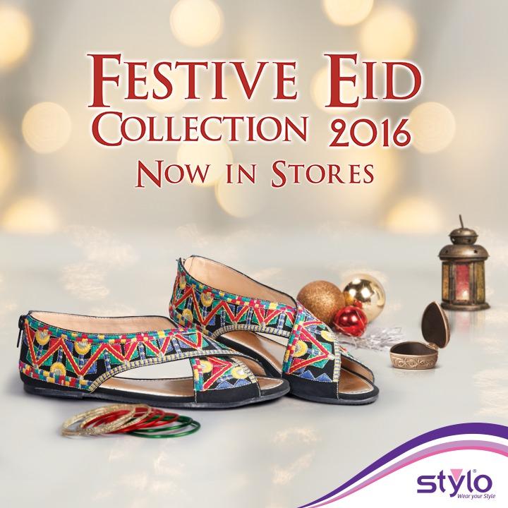 Stylo Shoes Fancy & Stylish Footwear Eid Collection 2016-2017 (1)