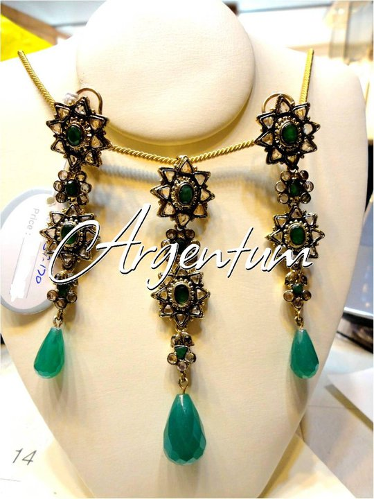 Argentum latest Jewellery Designs for Women by Nadia Chhotani 2014-2015 (4)