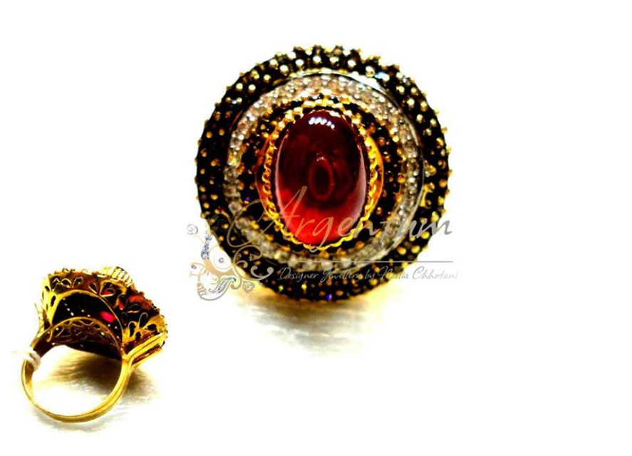 Argentum latest Jewellery Designs for Women by Nadia Chhotani 2014-2015 (9)