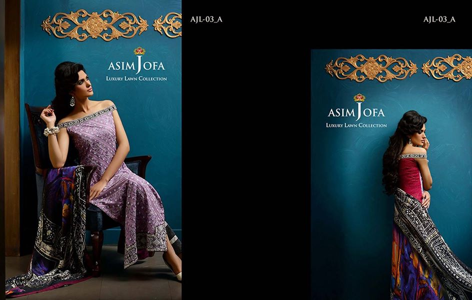 Asim Jofa Luxury Embroidered Lawn Formal dress Summer Collection 2014-2015 (15)