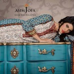 Asim Jofa Luxury Embroidered Lawn Collection for Women 2014-2015